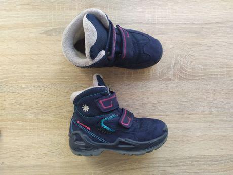 LOWA Gore-tex 28p. зимние ботинки superfit ecco elefanten черевики