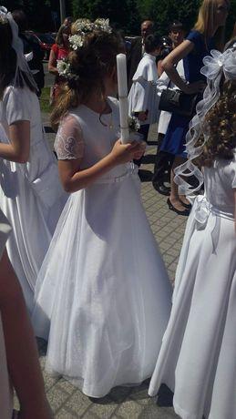 Suknia komunijna 146