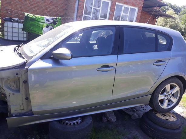 Drzwi maska przednia klapa tyl BMW I E87