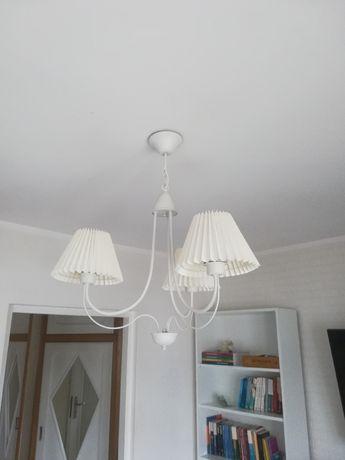 Lampa ecru stan idealny
