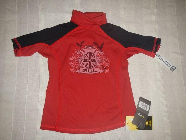 Солнцезащитная футболка GUL p.JS UPF 50+ р.7-8лет