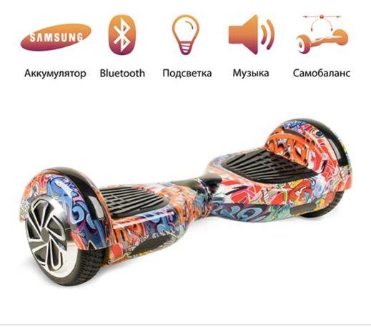 Гироскутер Гироборд Balance 5 дюймов оранжевый граффити Ровно