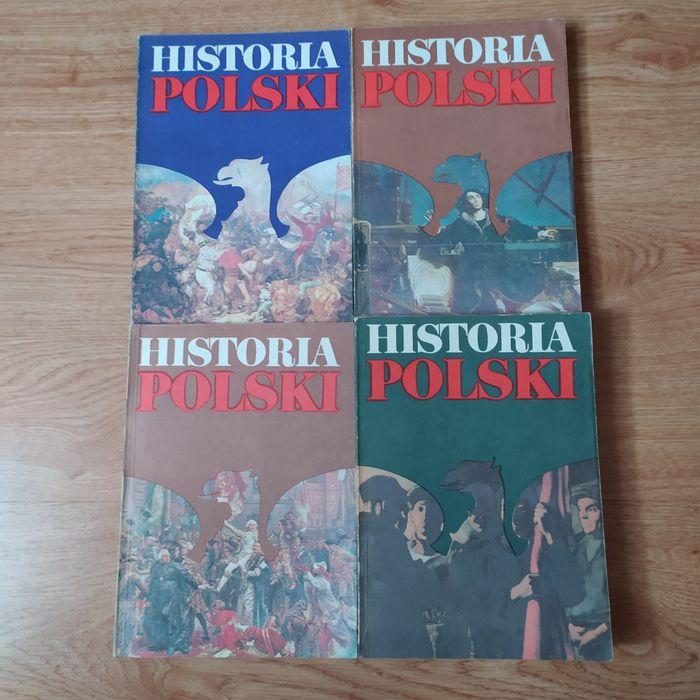 Historia Polski cztery 4 tomy unikatowe wydanie 1988 Międzyrzecz - image 1