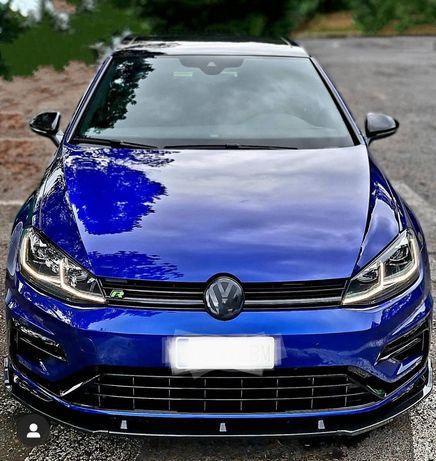 Передняя губа накладка на бампер VW Golf MK7