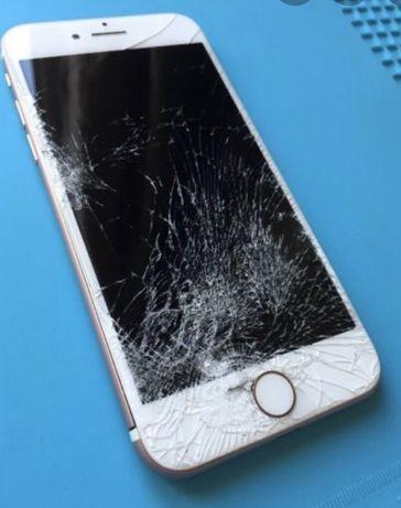 Wymiana ekranu IPhone szybko tanio i solidnie !