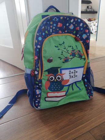 Plecak szkolny; 3 duże przegrody