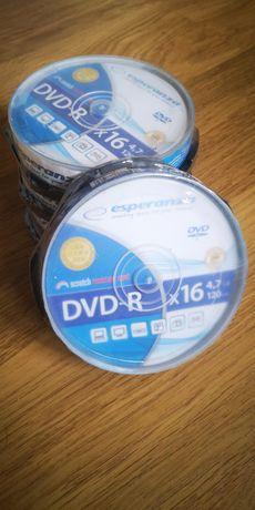 płyty Esperanza DVD-R x16 4,7GB 120Min 10szt Cake box