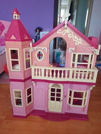 Дом для Штеффи  Барби много мебели и аксессуаров + сюрприз