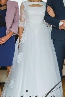 Suknia Ślubna kolor biały