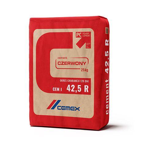Cement czerwony Cemex I 42.5 worek 25kg