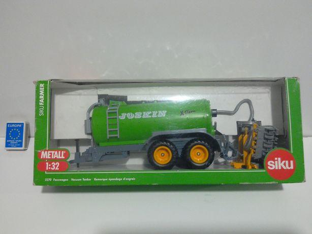 JOSKIN SIKU przyczepa rolnicza 1:32 traktor ciągnik 1/32 Ursus Zetor