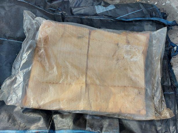 Wełna mineralna 70 x 90 cm, grb około 4 cm