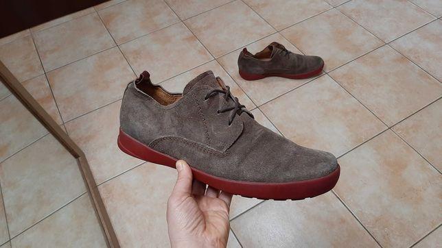 44-45р,стелька29см,Замшевые ботинки,туфли Think! (Синк!), отличное со