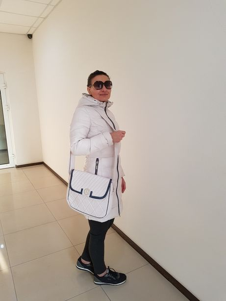 Пальто женское тёплое (Венгрия) + сумка комплект