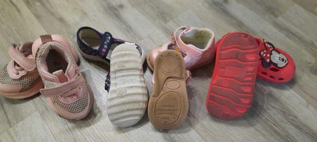 Летняя детская обувь 19-22 МИКС