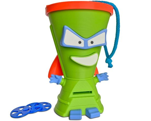 Super Zings MEGA MIXER pojemnik puszka na figurki UNIKAT SuperZings