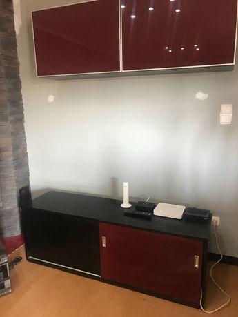 Móvel tv + armário suspenso