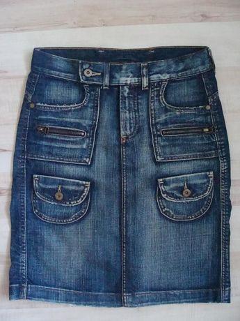 Spódnica jeansowa/ dżinsowa, sportowa