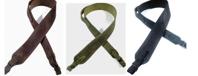 Ремень оружейный кожаный трапеция для ружья, для оружия, подарочный