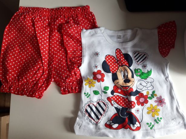 Komplet Minnie Mouse r.68