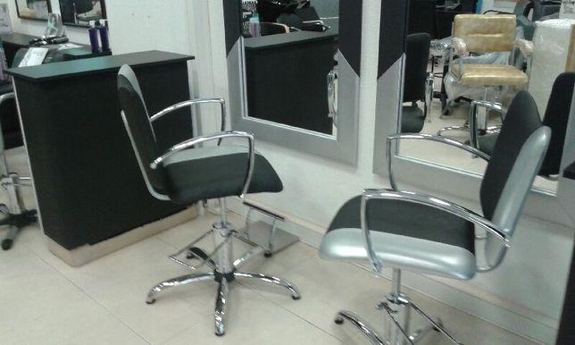 Cadeiras Cabeleireiro com Hidráulico - Promoção Loja Online