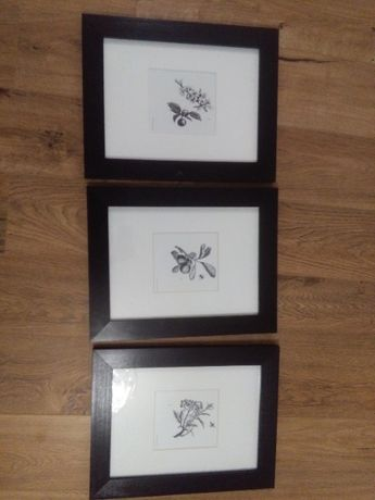 3 ramki na zdjęcia z plakatami