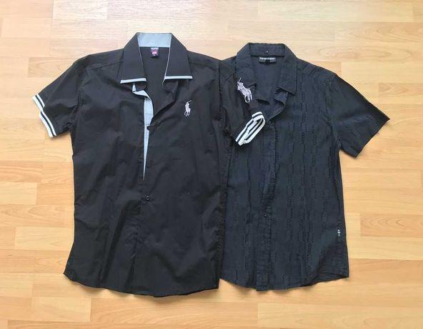 Camisas Emporio Armani Polo Ralph Lauren pretas