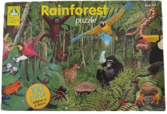 Puzzle ELC Rainforest - Las deszczowy
