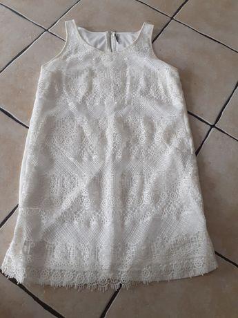 Stradivarius  biała  sukienka L