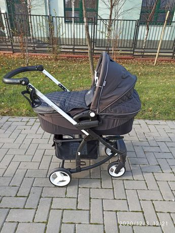 4baby wózek 2w1 stan bdb,nowa spacerówka