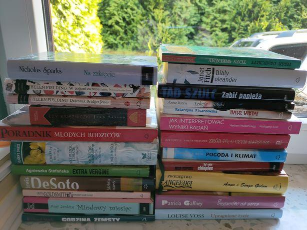 Duży wybór książek każda po 10 zl