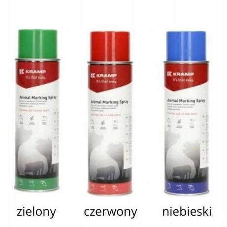 Spray do znakowania zwierząt KRAMP 500 ML