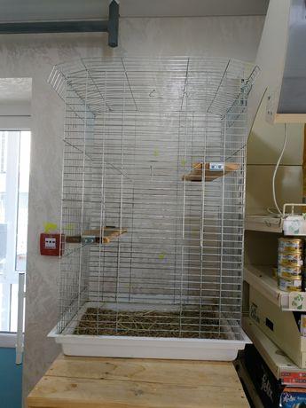 Клітка для гризунів або папуг