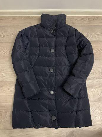 Куртка темно синяя женская весна зима