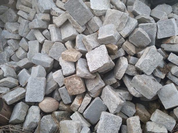 Kostka Granitowa Używana z Rozbiórki