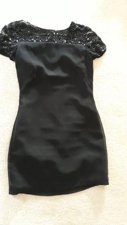 Sukienka mini, czarna