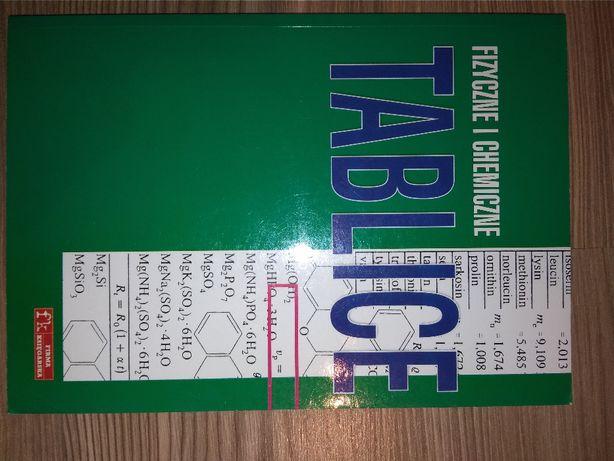 tablice fizyczne i chemiczne