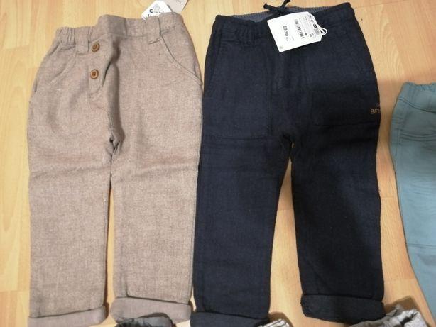 Spodnie Zara H&M rozm. 98