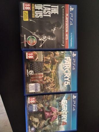 Vendo 3 jogos PS4
