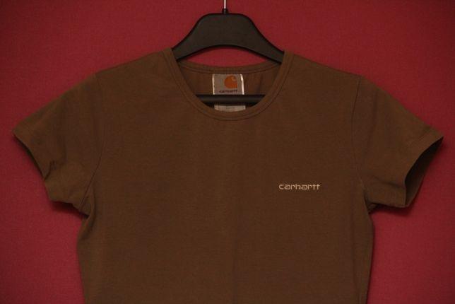 Carhartt Wip рр S (M бирка) футболка из хлопка и лайкры