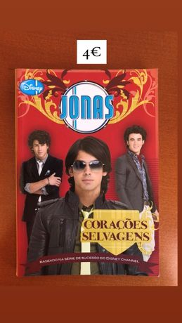 Livro Jonas Brothers Corações Selvagens