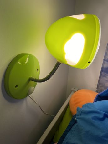 Lampa dziecięca ścienna Ikea Skojig