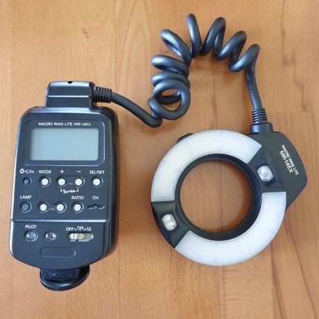 Lampa pierścieniowa Canon macro MR-14EX