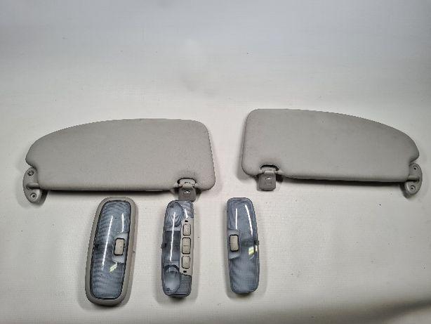 Osłona daszek lampka oświetlenia Słonecznik prawy lewy Ford Focus MK2