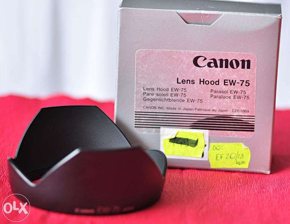 Osłona przeciwsłoneczna Canon EW-75 do Canon 20-35/2.8, 20/2.8