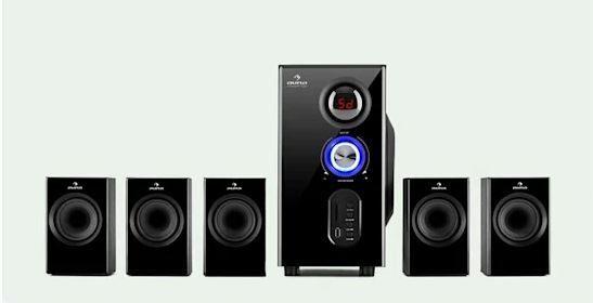 5.1 System Głośników Subwoofer Bluetooth USB SD