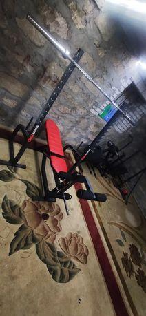 Siłownia marbo sport semi pro ławka brama olimpijska obciążenie hantle