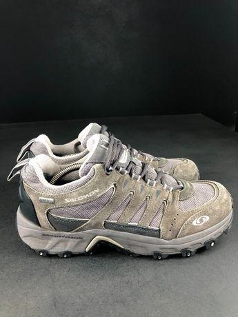 Треккинговые кроссовки Salomon gore-tex ботинки на мембране