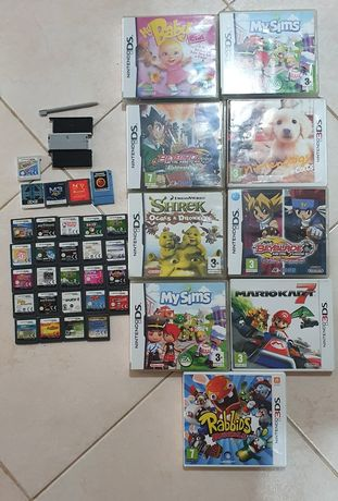 Varios jogos game gear,game boy,mega drive,master system Nintendo 3ds