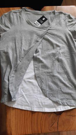 T-shirty ciążowe rozm. S Esmara nowe z metką